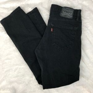 Levis Jeans 511 30 30 Skinny Black Slim Stretch
